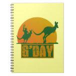G'Day Spiral Notebooks