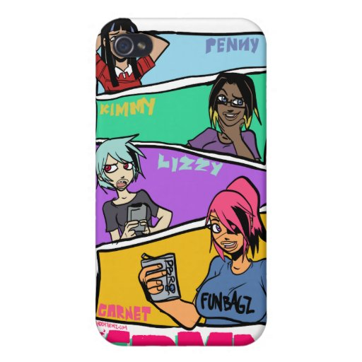 GDMN PNTY BRGD iPhone 4 COVERS