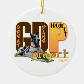 GDP - Great Dane Project - Ornament - LOVE the DOG