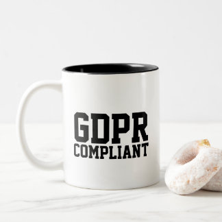 GDPR Compliant Two-Tone Coffee Mug