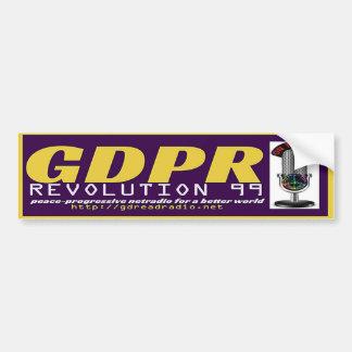 GDPR REVOLUTION99 Bumper Sticker