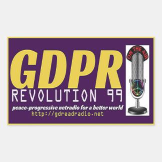 GDPR REVOLUTION99 Rectangle Sticker