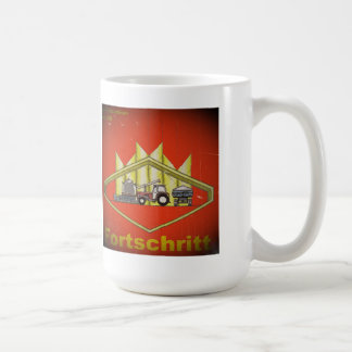 GDR advertising cup