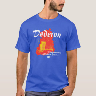 GDR advertising Design Dederon chemical fibres T-Shirt