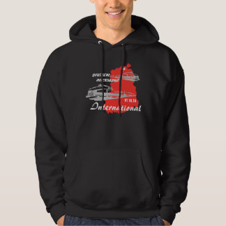"GDR advertising Design ""National Railroad internat Hoodie"