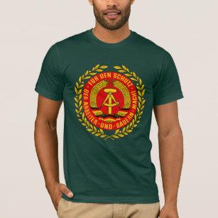 Vintage Farbe schwarz Werbetreff Gera Deutschland T-Shirt individuell mit Name Damen Fu/ßball Unisex Fanshirt R/ückennummer Retro Herren