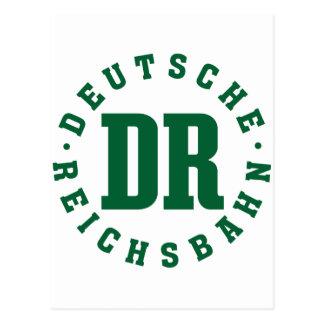 GDR/GDR Railway - German National Railroad Sign Postcards