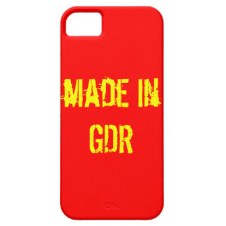 GDR mobile phone covering iPhone 5 Covers