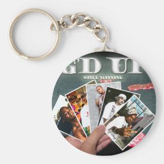 gdupstillwinnincopy basic round button keychain