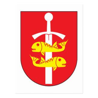 Gdynia Coat of Arms Postcard