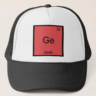 Ge - Geek Funny Chemistry Element Symbol T-Shirt Trucker Hat