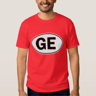 GE Oval Identity Sign T-shirt