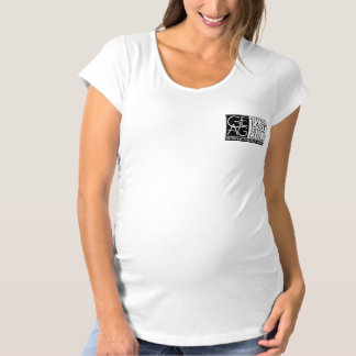 geag logo maternity short sleeve tshirt