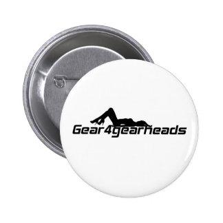 Gear4gearheads Lady Pinback Buttons