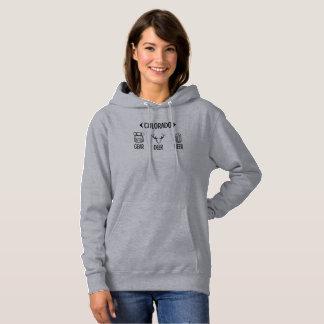 Gear, Deer, Beer Colorado Sweatshirt Hoodie
