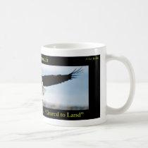 Gear Down. Flaps Down. Cleared to Land Bald Eagle Coffee Mug