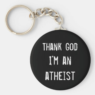 Gear for Atheist Keychain