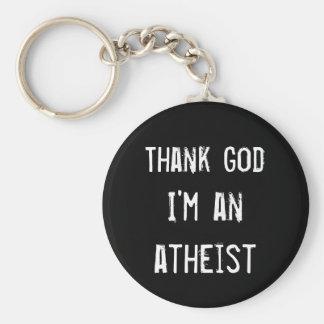 Gear for Atheist Key Chain