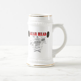 GEAR HEAD BEER STEIN