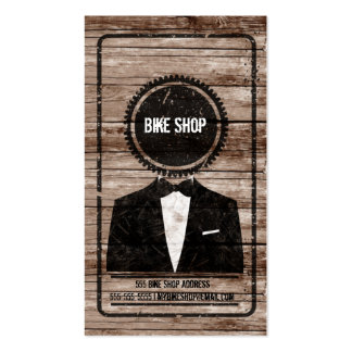 Gear Head Bicycle Shop business card
