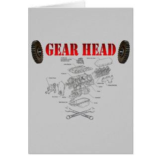 GEAR HEAD CARD