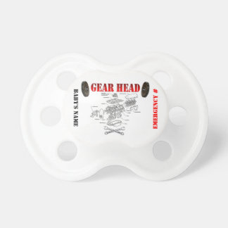 GEAR HEAD PACIFIER