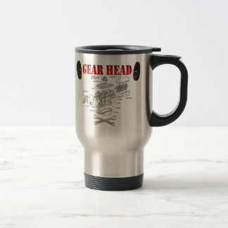 GEAR HEAD TRAVEL MUG