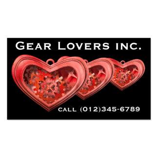 Gear Lovers businesscard Business Card Template