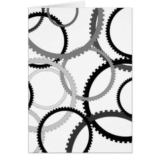 Gear Rings Card