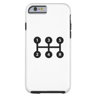 Gear Shift Pictogram iPhone 6 Case
