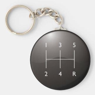 Gear Shifter Key Chains