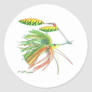 Gear & Tackle Collection by FishTs.com Classic Round Sticker