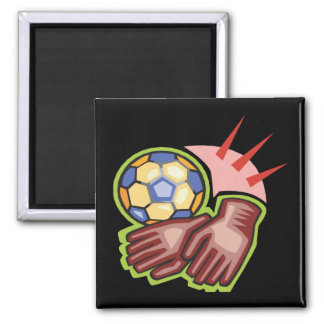 Gear Up 2 Inch Square Magnet