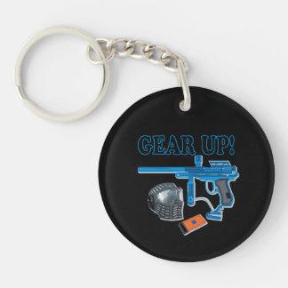 Gear Up 2 Keychain