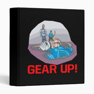 Gear Up 3 Ring Binder