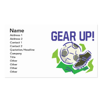 Gear Up Business Card
