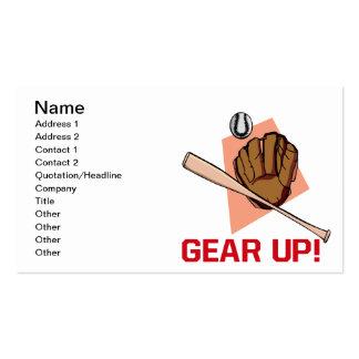 Gear Up Business Card Template