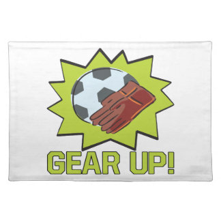 Gear Up Cloth Placemat