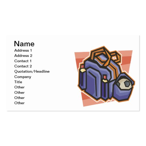 Gear Up Double-Sided Standard Business Cards (Pack Of 100)