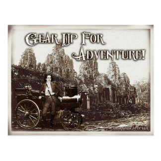 Gear Up For Adventure Postcard