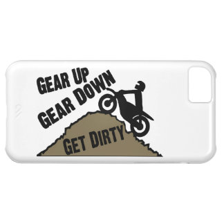 Gear Up Gear Down Dirt Bike Rider iPhone 5C Case