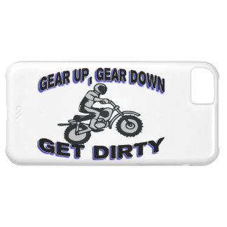Gear Up Get Dirty Motocross Case For iPhone 5C