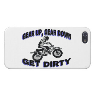 Gear Up Get Dirty Motocross Cover For iPhone SE/5/5s