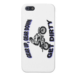 Gear Up Get Dirty Motocross iPhone SE/5/5s Case