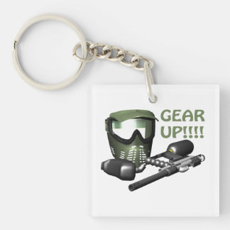 Gear Up Keychain