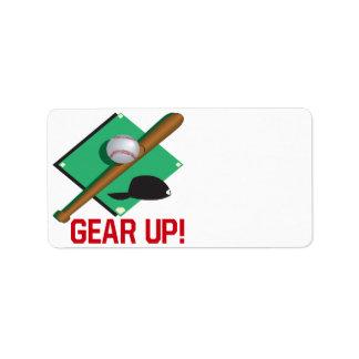 Gear Up Custom Address Labels