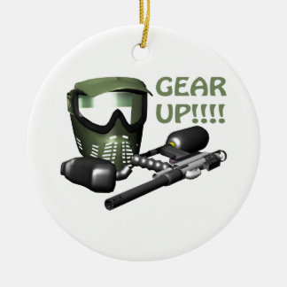 Gear Up Ornament