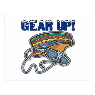 Gear Up Postcard