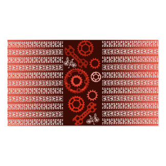 Gear Up Red Business Card