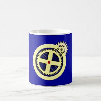 Gear wheel clockwork clockwork pinion cog wheel coffee mug